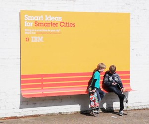 IBM + Ogilvy: Billboards as Urban Furniture