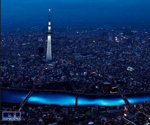 100k LEDs floated the Sumida River Tokyo