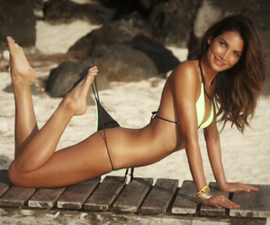 Video: Lily Aldridge for S.I. Swimsuit