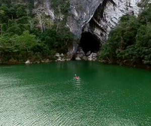 Journey Through the Tham Khoun Xe River Cave