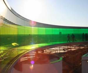 Rainbow Panorama by Olafur Eliasson