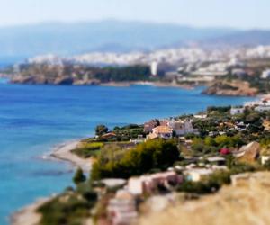 Tilt-shift / Time lapse video from Creta, Greece