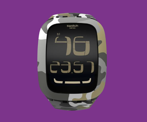 Swatch's new touch screen watch