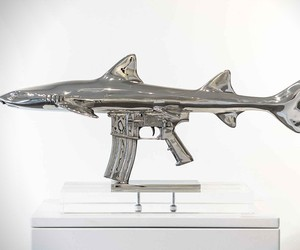 Shark Gun Sculptures