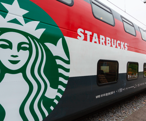 HAVE YOU SEEN THE STARBUCKS TRAIN?