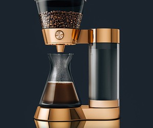 Poppy Pour-Over Is A Beautiful Coffee Machine
