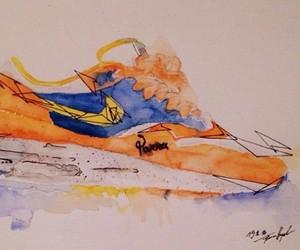 """Sneakerprints"" by Flo Belvedere aka Achildcolor"