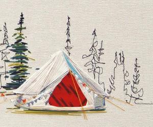 Tent, Camper & Finnhütte - Embroidered accommodati