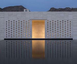 Stone Court Villa in the Las Vegas Desert