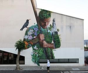 """Tanausu"" by Street Artist Sabotaje Al Montaje"
