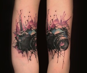 Thrilling Tattoos inspired by Streetart-Stencils