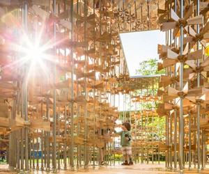 Energy Pavilion by Five Line Projects