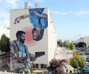 "Murals by Street Art-Duo ""Colectivo Licuado"""