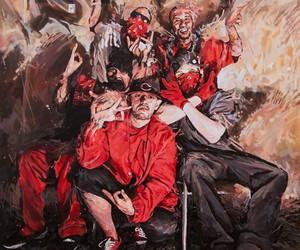 Paintings of Gang Members by Michael Vasquez