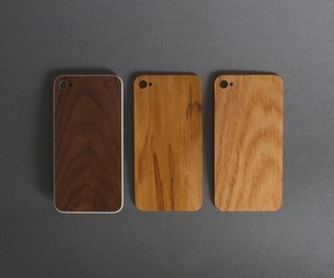 Wooden iPhone Back Plates by Monolith