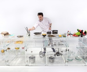 MVRDV designs transparent Infinity Kitchen
