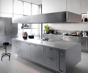 Abimis Bespoke Stainless Steel Kitchen