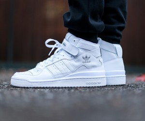 Adidas Forum Mid Triple White