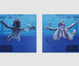 The Backsides Of Famous Album Covers Look Like