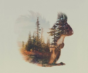 """The Animal Kingdom"" – Double Exposure Portraits"