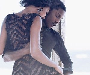 A$AP Rocky and Chanel Iman for VOGUE