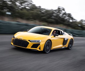 The new R8 V10 in Tracktest in Spain