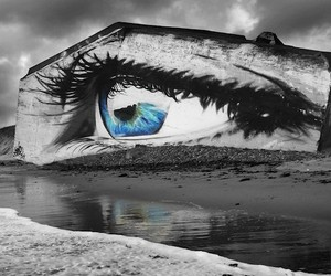 The Eye – Beautiful Mural by Street Artist Cece