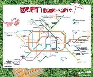 The bathing card for Berlin as a PDF download