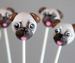 Recipe tip for the weekend: pugs as Cake Pops