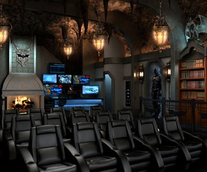 Dark Knight Rises Inspired Home Theater