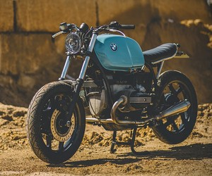 BMW R100 Scrambler by Retro Moto