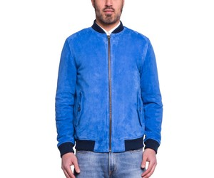 Levi's Made & Crafted Imperial Blue Bomber Jacket
