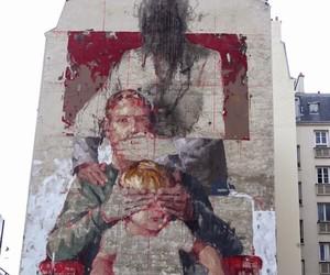 """New Mural by Borondo – """"Les Trois Ages"""" Paris"""