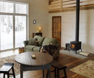 Rustic Vermont Snow Cabin