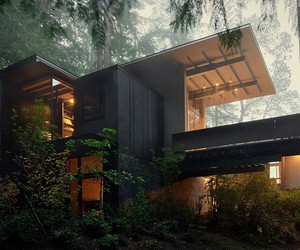 Olson Kundig Cabin in Longbranch