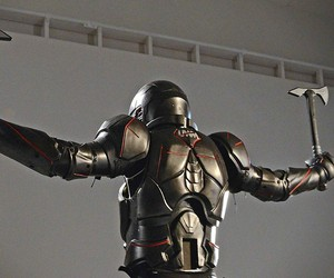 Carbon Fiber Gladiator Suit