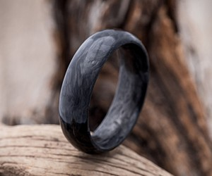 Forged Carbon Fiber Wedding Band