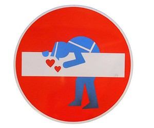 Clet Abraham designs traffic signs