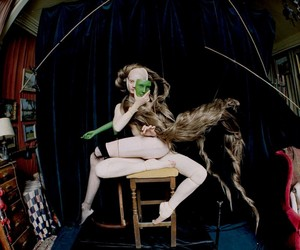 Tim Walker Shoots for Vogue Italia