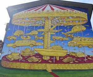 """Mural """"La Cuccagna"""""""