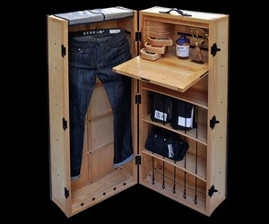 Denham x Method Furniture 'Journeyman' Trunk