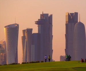 Welcome To Doha Timelapse