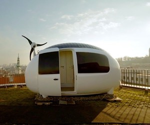 The Ecocapsule a full autonomous residential cabin