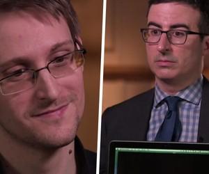 John Oliver Interviews Edward Snowden