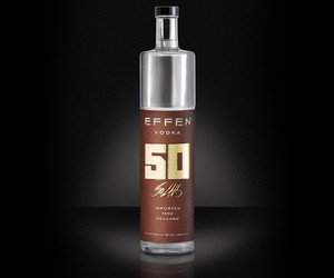 50 Cent and EFFEN Vodka Limited Edition Bottle
