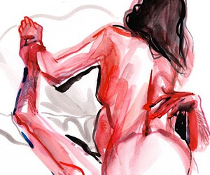 Watercolor porno by eroticwatercolor