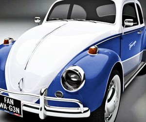 The Volkswagen Facebook Car