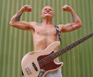 Flea Teams Up with Fender for New Bass Guitar
