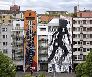 David De La Manonew Mural in Berlin