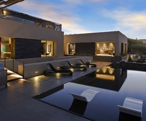 The Diamond Grill Designed Grey House in Las Vegas